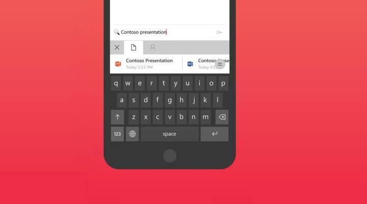 Microsoft Hub klavye, iOS platformuna da geldi