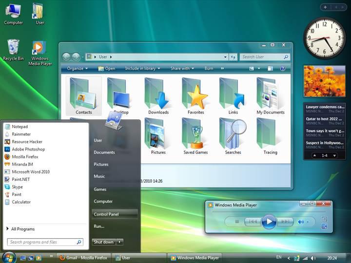 Windows Vista için emeklilik vakti yaklaşıyor
