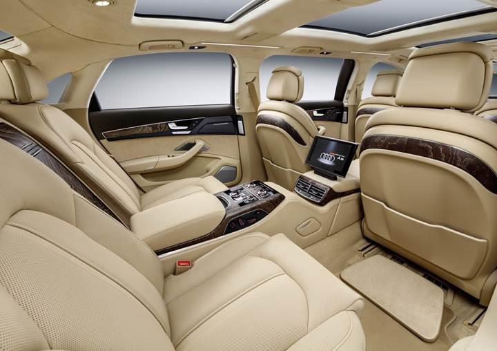 Audi'den Avrupalı müşterisine özel limuzin: A8L Extended