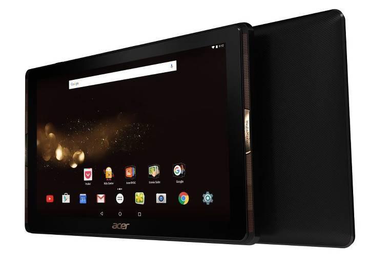Acer'dan 4 hoparlörlü Iconia Tab 10