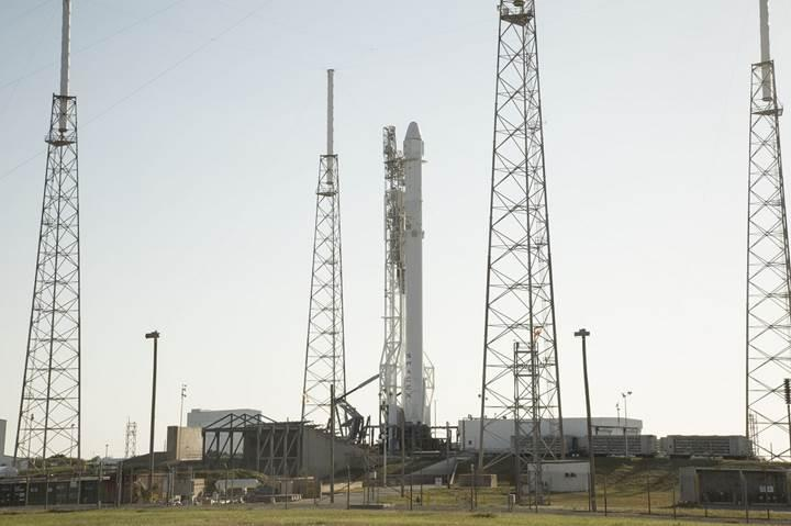 SpaceX Uzay İstasyonu'na kargo taşıyor