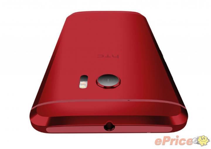 HTC 10'un kırmızı renkli versiyonu ortaya çıktı