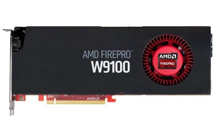 32GB GDDR5 bellekli AMD FirePro W9100 duyuruldu