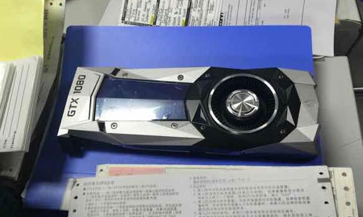 Nvidia GeForce GTX 1080 kameralara yakalandı