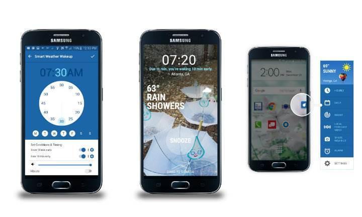 Samsung'a özel Weather Channel uygulaması