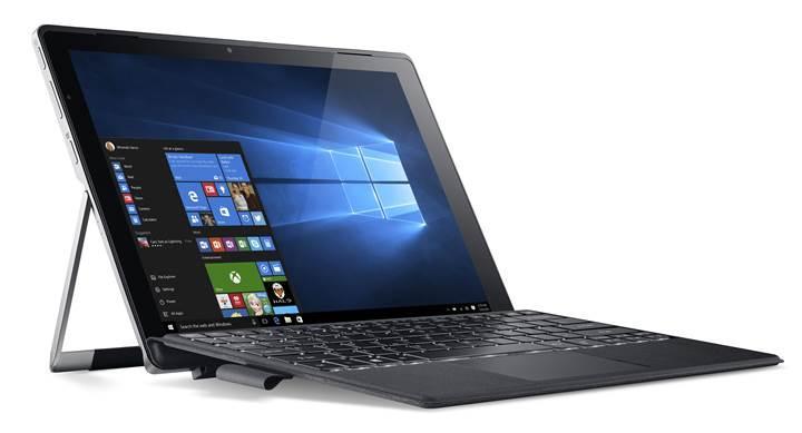 Acer'dan sıvı Soğutmalı 2'si 1 Arada Dizüstü Bilgisayarı Switch Alpha 12