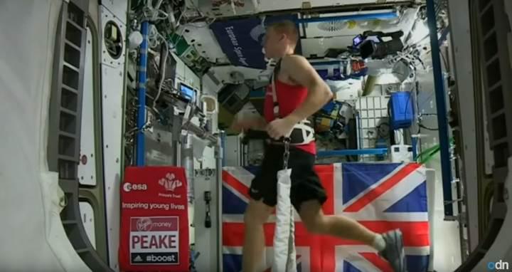 Uzayda maraton koşan astronot Guinness Rekorlar Kitabı'na girdi
