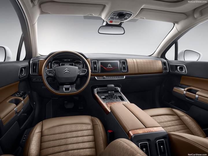 Citroen C6'nın 2017 modeli Çin'de tanıtıldı