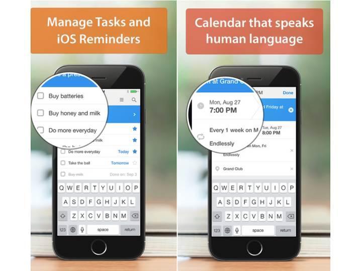 Alternatif ajanda uygulaması Calendars 5, iOS için ücretsiz