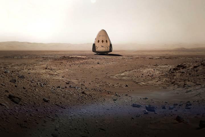 SpaceX 2018'de Mars'a gidiyor! İşte dev projenin tüm detayları
