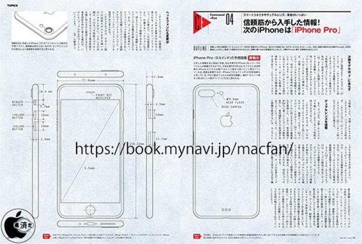 iPhone 7 Pro tasarım şeması sızdırıldı