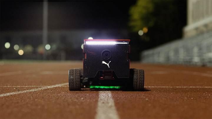 Puma'dan robot ayakkabı kutusu