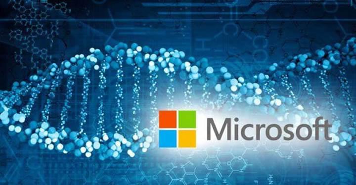 Microsoft 1 gram DNA'ya 1 milyar TB veri depolamayı deneyecek