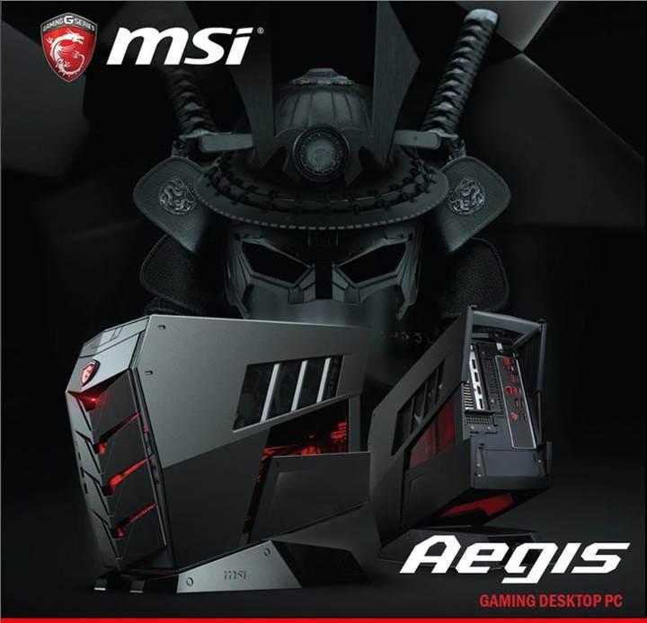 MSI'dan kompakt yapıda oyuncu sistemi: Aegis
