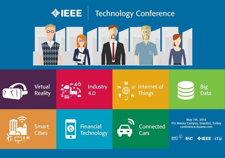 Dijital Dünyaya IEEE İTÜ Teknoloji Konferansı ile bağlanın