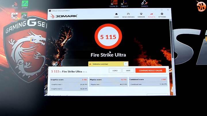 MSI Vortex G65 6QF 'Atom Karınca' video incelemesi
