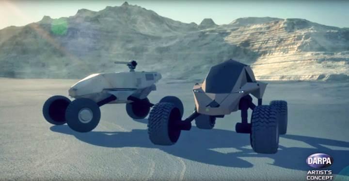 DARPA'dan akıllı ve zırhlı arazi aracı konsepti