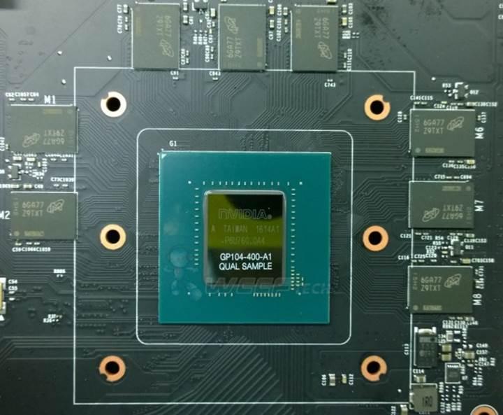 GDDR5X destekli Nvidia GP104-400 çekirdeği de sızıntı kurbanı oldu