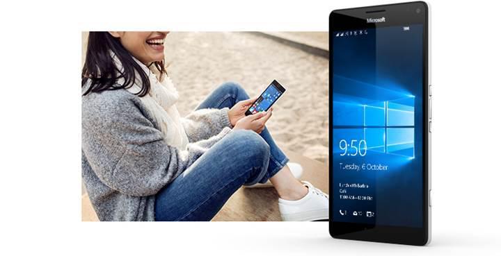 Lumia 950 XL alana, Lumia 950 bedava