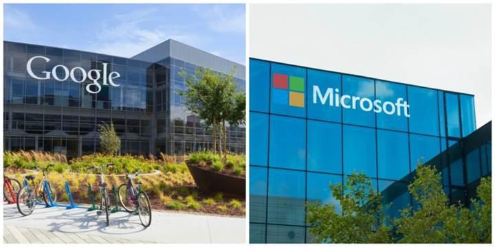 Microsoft ve Google mahkeme salonlarındaki savaşlarını durdurma kararı aldı