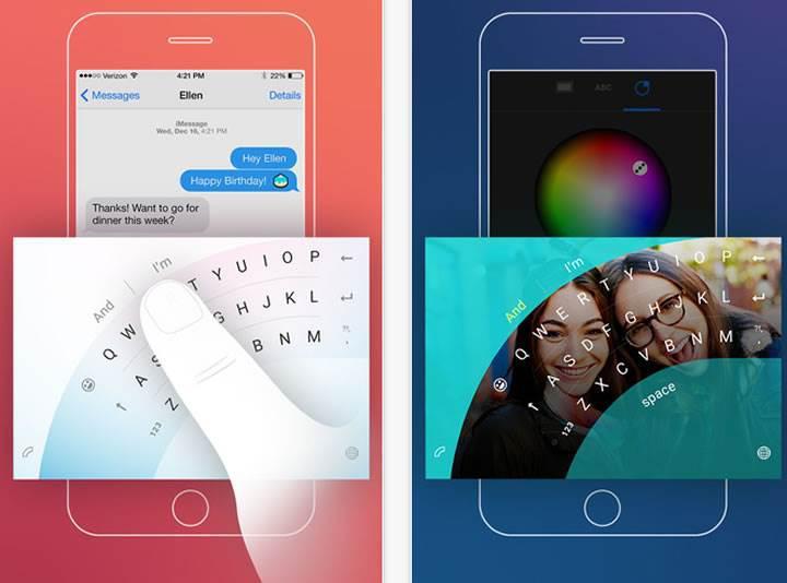 Microsoft'un klavye uygulaması sonunda iOS platformunda