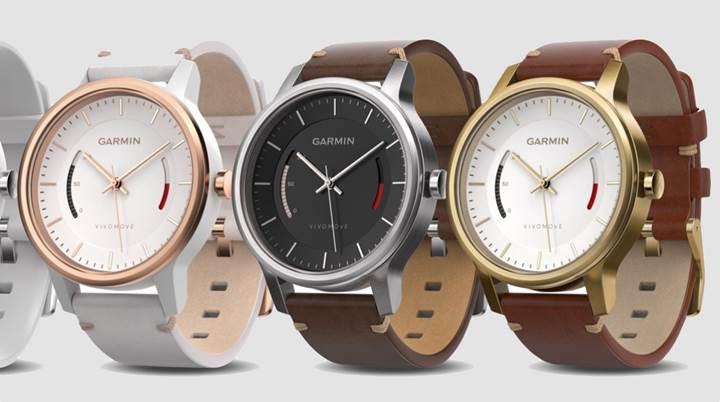 Aktivite takip özellikli analog saat Garmin Vivomove tanıtıldı