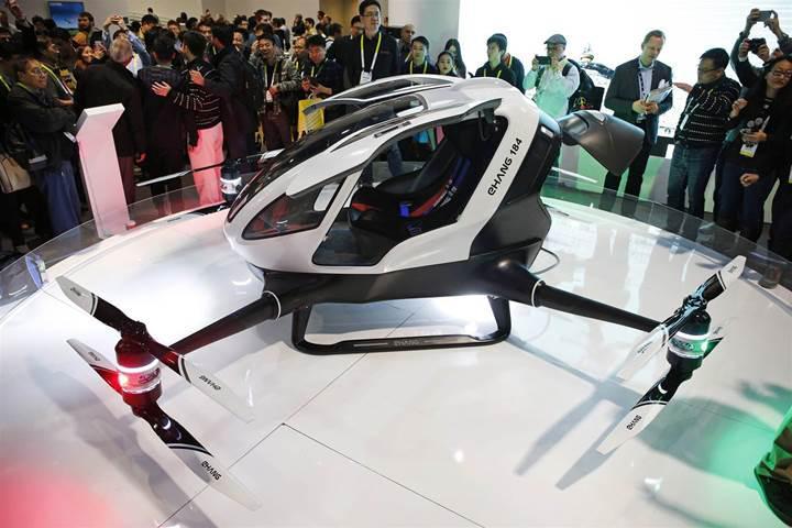 Devasa otonom drone organ nakliyatında kullanılacak