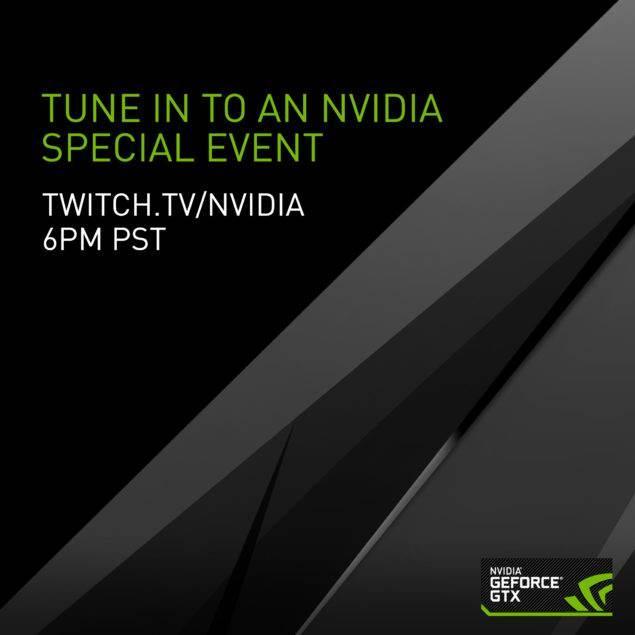 Nvidia GeForce GTX 1000 etkinliğini canlı izleyin