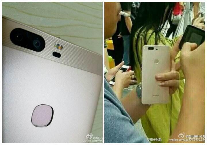 Çift kameralı Huawei Honor V8 sızdırıldı