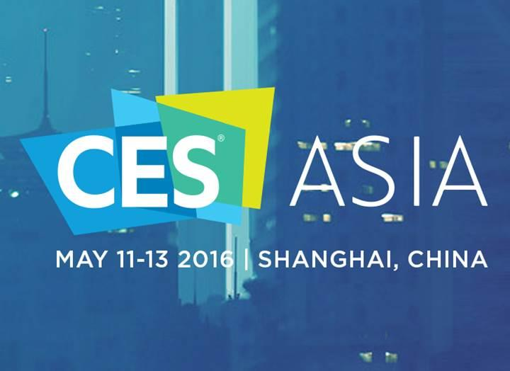 CES Asia 2016 başlıyor
