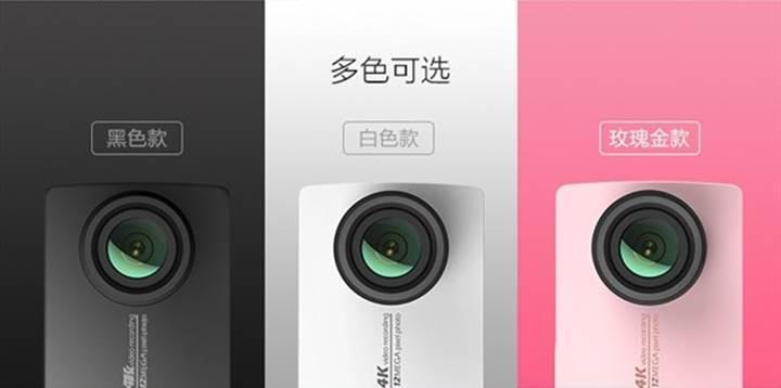 Xiaomi'den 4K çözünürlükte yeni aksiyon kamerası: Xiaomi Yi 4K