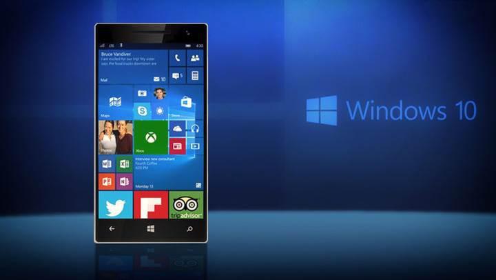Windows 10 mobil, parmak izi okuyucularına kapıyı açıyor
