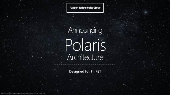 AMD Polaris mimarisi ile ilgili yeni bilgiler