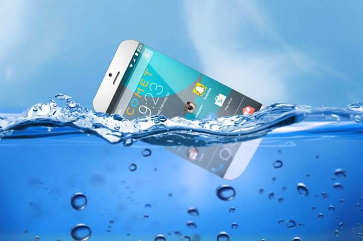 Bu da yüzen akıllı telefon