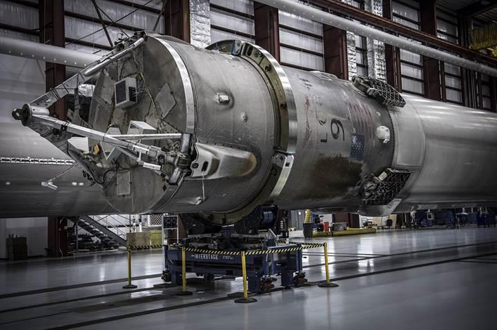 SpaceX'in indirdiği son Falcon 9 gereğinden fazla hasar gördü