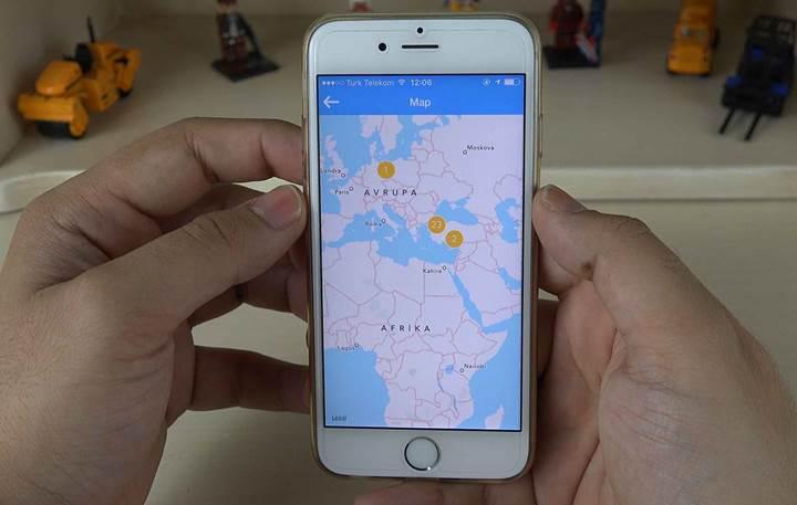 Yerli video bazlı yer bildirim uygulaması Tapir incelemesi
