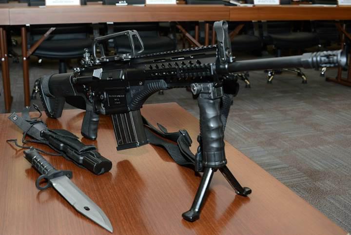 Milli piyade tüfeği MPT-76 seri üretime başladı