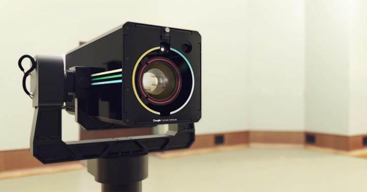 Google, Art Camera ile sanat eserlerini en ince ayrıntıları ile görüntülüyor