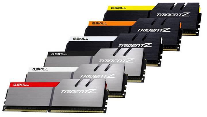 G.Skill'den 4266MHz hızında 16GB Trident Z DDR4 bellek kiti