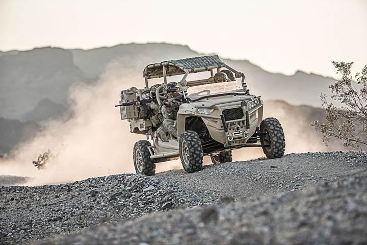 Her araziye uygun savaş aracı MRZR-D