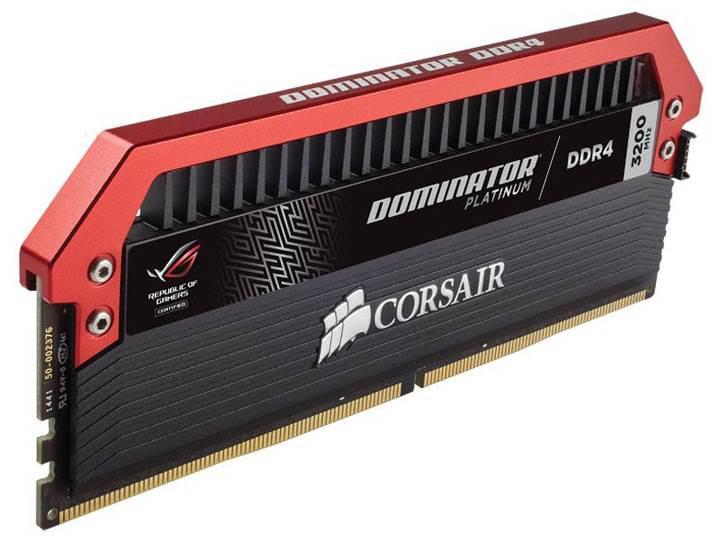 Corsair'den ROG anakartlara özel DDR4-3200 bellek kitleri