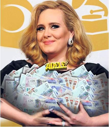 Adele, Sony Music ile 90 milyon sterlinlik anlaşma imzaladı