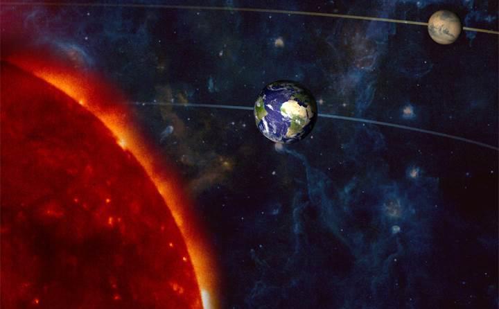 Mars son 11 yıldaki en yakın konumuna geliyor