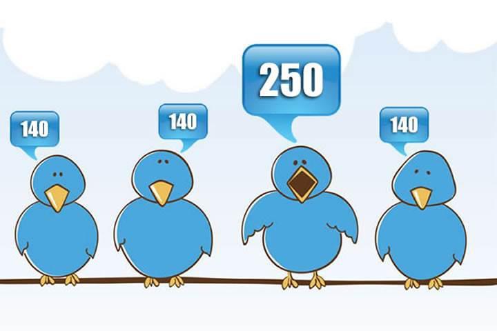 Twitter medya içeriklerini 140 karakter sınırına dahil etmeyecek