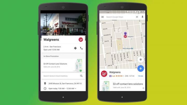Google Maps'e yeni reklamlar ekleniyor