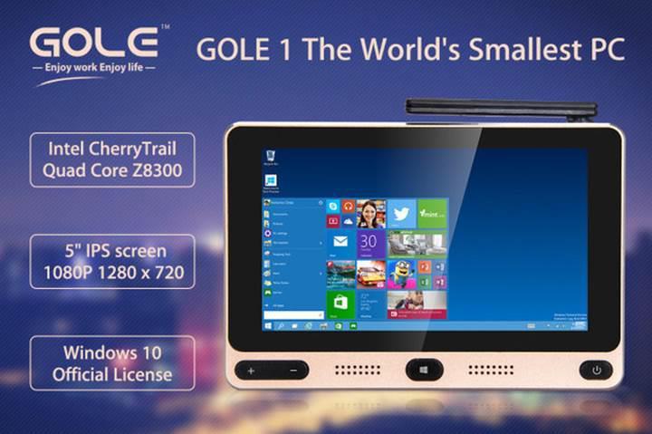 5 inçlik bilgisayar GOLE1, destek arıyor
