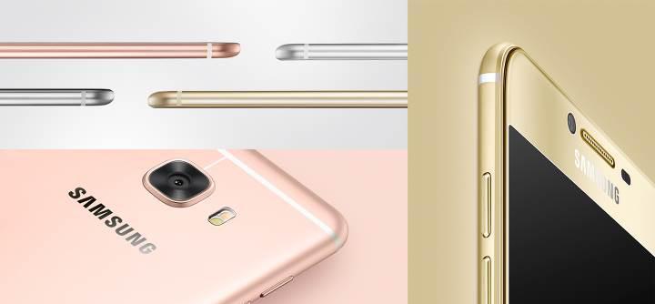 Samsung Galaxy C5 resmiyet kazandı