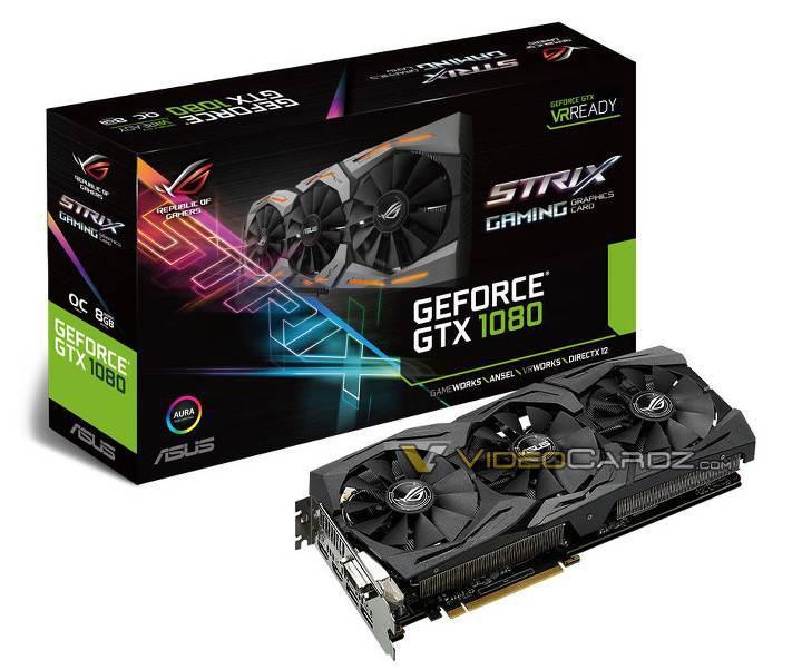 Özel tasarımlı GeForce GTX 1080 ekran kartları ringe çıkıyor