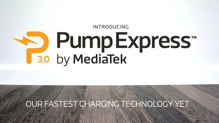 MediaTek Pump Express 3.0: Sıfırdan 70'e 20 dakika