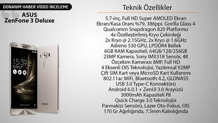 Asus ZenFone 3 Deluxe incelemesi: